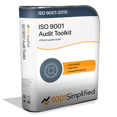 ISO 9001 Audit Toolkit