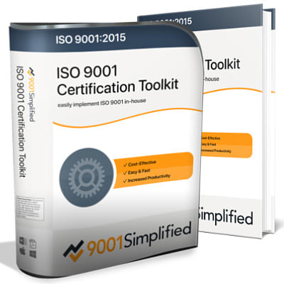 ISO 9001 Certification Toolkit