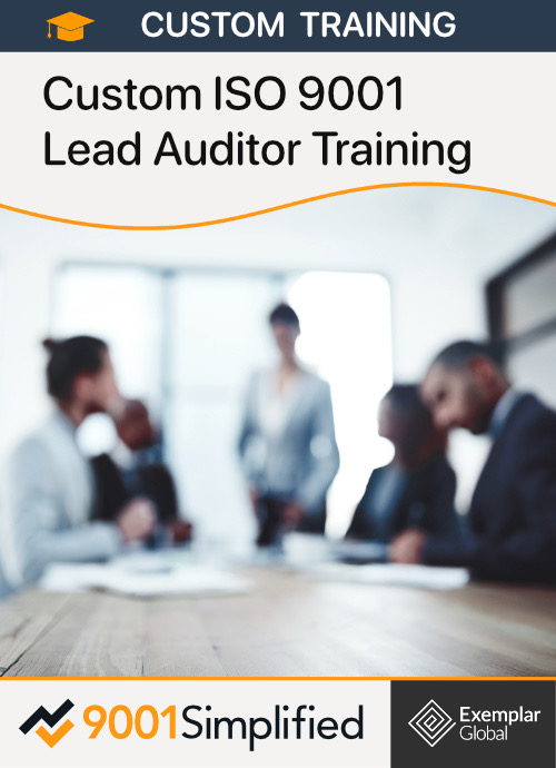 On-site ISO 9001 Lead Auditor Training
