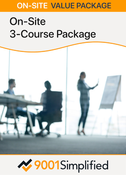 On-Site  3-Course Package